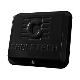 Antena DVB-T panel zew. 45dB czarna