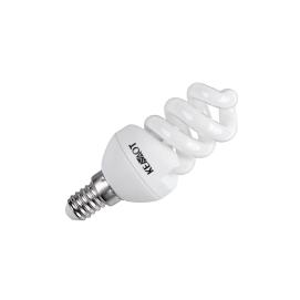 Kompaktowa lampa fluorescencyjna (Świetlówka) spirala, E14 , 7W, 2700K