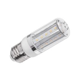 Lampa LED (34 SMD 3014) 4,5W walec, E27, 3000K, 230V