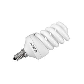 Kompaktowa lampa fluorescencyjna (świetlówka) spirala,15W E14, 2700K