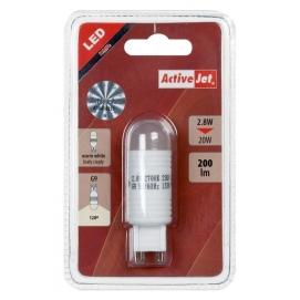 Lampa LED G9 2,8W-230V biała