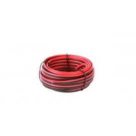 Kabel głośnikowy CCA 1mm 10M czer.-czarn.