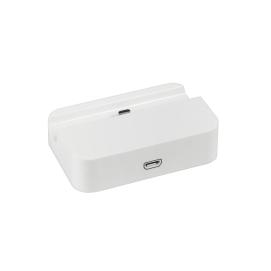 Stacja dokująca micro USB biała