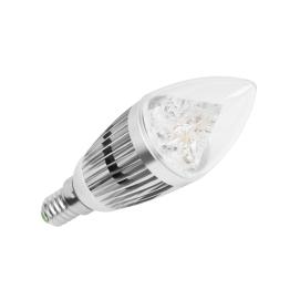Lampa LED 5W, świeca, E14, 3000K, 230V