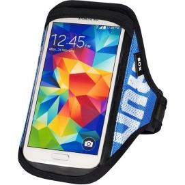 SOX opaska sportowa na smartfon RUN AWAY L/XL 30-40cm niebieska