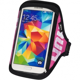 SOX opaska sportowa na smartfon RUN AWAY XXL 30-40cm różowa