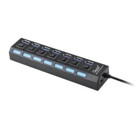 HUB USB 3.0 7 portowy QUER PRO