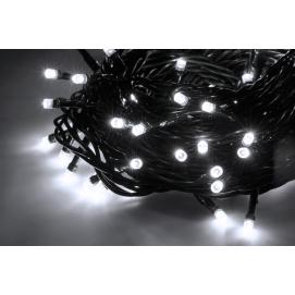 Lampki choinkowe wewnętrzne 10m, zimne białe, 230 V
