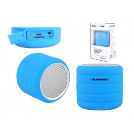 """Przenośny głośnik Bluetooth  BT01blFM PLL SD/USB/AUX"""", niebieski."""