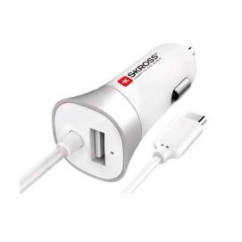 SKROSS P Car Charger - USB Type-C (2.0) Cable