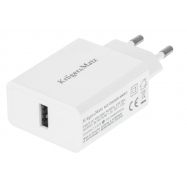Ładowarka sieciowa Kruger&Matz USB z funkcją Pump Express 2.0