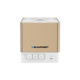 BLAUPUNKT Głośnik przenośny BLUETOOTH z FM/USB BT02 GOLD.