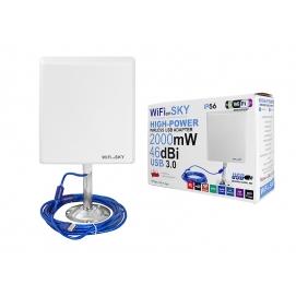 Antena WIFI SKY 5m, 46dBi/