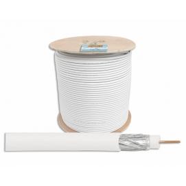 Kabel koncentryczny RG6 1.00 CU + 64 x 0.12 300m