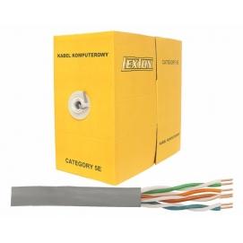 Kabel komputerowy -skrętka UTP 5e 100%Cu