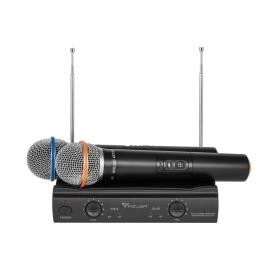 Mikrofon bezprzewodowy Azusa 2 kanały VHF V3000