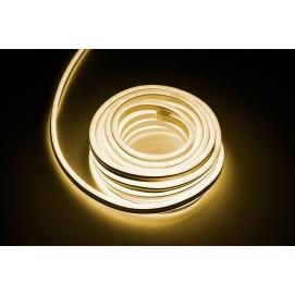 Sznur diodowy mini neon dwustronny 10m, 7.4W, 230V, ciepły biały