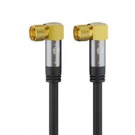 Kabel antenowy SAT (typ 135 dB), poczwórne ekranowanie