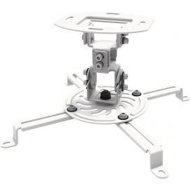 BeamerFlex L, white - universal ceiling mount for projectors, with cardan joint