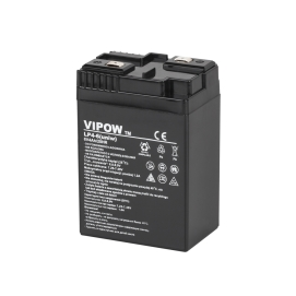 Akumulator żelowy VIPOW 6V 4Ah (uniwersalny)