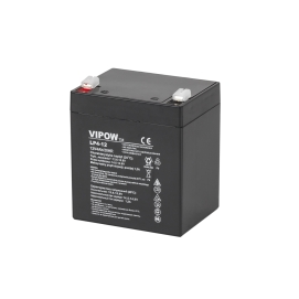 Akumulator żelowy VIPOW 12V 4Ah