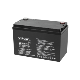 Akumulator żelowy VIPOW 12V 100Ah