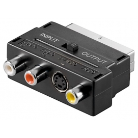 Adapter Scart do Composite Audio Video i S-Video IN/OUT