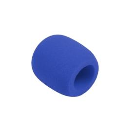Owiewka (gąbka) mikrofonowa niebieska