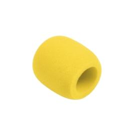 Owiewka (gąbka) mikrofonowa żółta