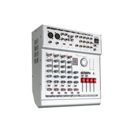 Powermikser 6 kanałowy AZUSA PMX-6S z wbudowaną końcówką mocy 2x210W