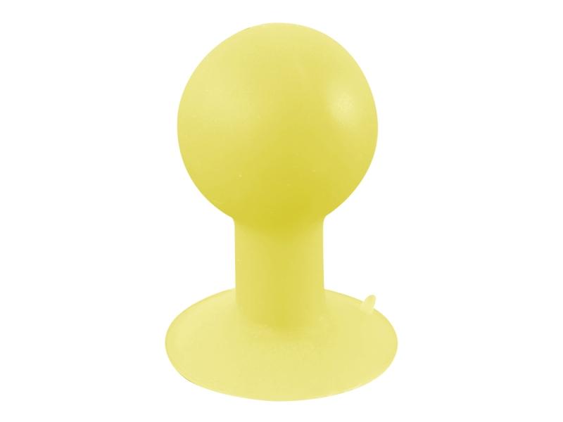 iStand, podstawka do tabletów, telefonów, żółta