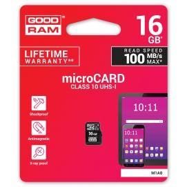 Karta pamięci microSD 16GB UHS-I Goodram