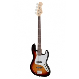 Gitara basowa 4-strunowa typu Jazz Harley Benton JB-20 SB Standard