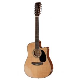 Gitara elektroakustyczna Harley Benton HBD200-12 NT