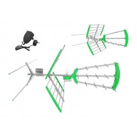PS Antena DVB-T LTC Virga Combo Aktywna + FILTR LTE polaryzacja pozioma