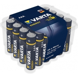 Energy LR03/AAA (Micro) (4103), 24 pcs. box - alkaline manganese battery, 1.5 V