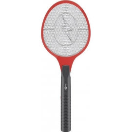 Electric fly swatter, red - for quickly and effectively eliminating insects