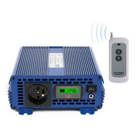 Przetwornica napięcia 24 VDC / 230 VAC ECO MODE SINUS IPS-1200S PRO 1200W