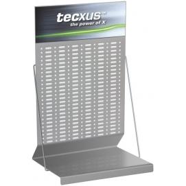POS Tecxus Counter Display Flexi 9, white-light gray