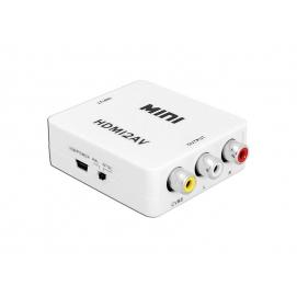 Konwerter sygnału gniazdo HDMI - gniazdo AV - CHINCH CVBS + AUDIO LXHD129