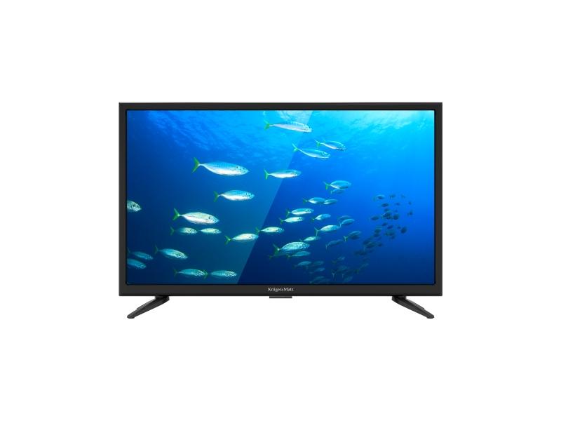 """Telewizor Kruger&Matz 22"""" FHD DVB-T2 H.265 230/12V"""