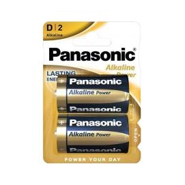 Bateria alkaliczna Panasonic BRONZE LR20 2szt./bl.