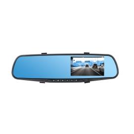 Lusterko samochodowe Peiying z rejestratorem i kamerą cofania