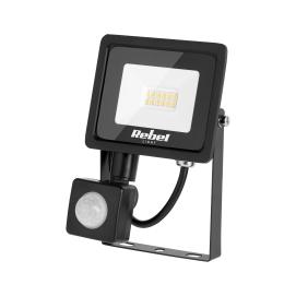 Reflektor LED Rebel 10W, 3000K, z sensorem zmierzchu, 230V