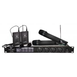 Zestaw mikrofonów LS-8888 Azusa (2 do ręki + 2 na klips)