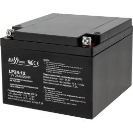 Akumulator żelowy 12V 24Ah MaxPower