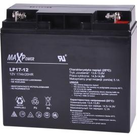 Akumulator żelowy 12V 17Ah MaxPower