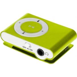 Odtwarzacz MP3 Quer z czytnikiem kart zielony