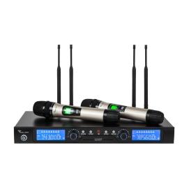 Zestaw mikrofonów bezprzewodowych Azusa UHF S23-H5