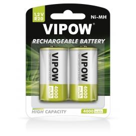Akumulatorki VIPOW HR20 4000 mAh Ni-MH 2szt/bl